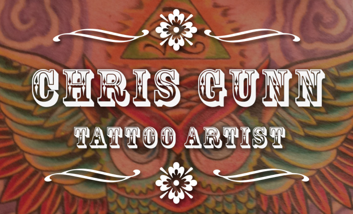 Chris Gunn, Tattoo Artist